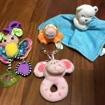 Lote brinquedinhos menina bebê - Sem faixa etaria - Variadas