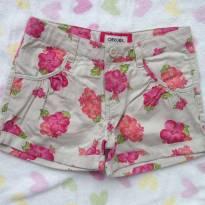 Shorts florido Cherokee - 7 anos - Cherokee