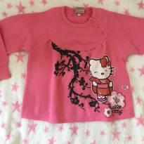 Moletom Hello Kitty cerejeira - 4 anos - Hello Kitty by Sanrio
