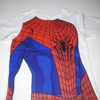 Camiseta homem aranha - 2 anos - Não informada