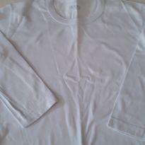 Camiseta branca manga longa - 2 anos - Fakini