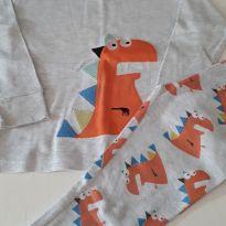 Pijama dinossauros - 24 a 36 meses - Não informada