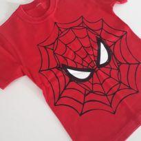 Camiseta homem aranha - 24 a 36 meses - Não informada