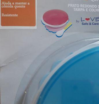 Prato térmico - Sem faixa etaria - Love, Safe & Care