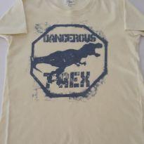 Camiseta dinossauro - 24 a 36 meses - Poim, Cherokee e Up Baby