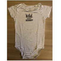 Body curto (Código D25) - 18 meses - Carter`s