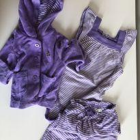 Conjuntinho Plush 3 peças Baby Gap - 3 a 6 meses - Baby Gap