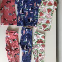 3 pijamas de tamanhos diversos Carter`s - 6 meses - Carter`s