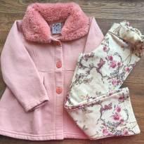 Conjunto casaco e calça quentinhos 3 anos - 3 anos - Randa Mundu