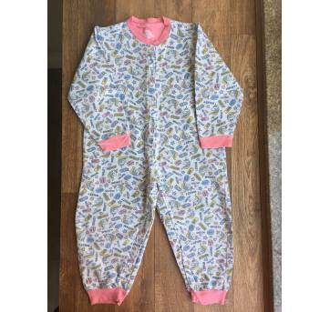 Macacão pijama quentinho unicórnios - 3 anos - Have Fun