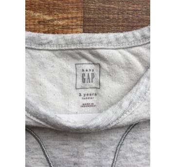 Camiseta manga longa coelhinho GAP 3 anos - 3 anos - Baby Gap