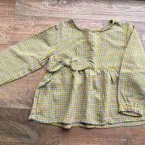 Camisa xadrez laço Zara - 18 a 24 meses - Zara Baby