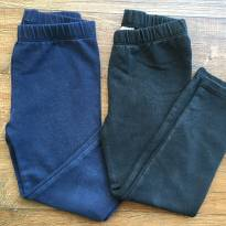 kit com 2 calças leggings GAP 3 anos