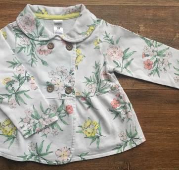 Casaquinho floral Carter`s 18 meses - 18 meses - Carter`s