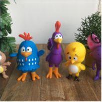 Bonecos Turma galinha pintadinha vinil