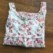 Blusa batinha regata floral Gap 3 anos - 3 anos - Baby Gap