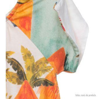 Vestido Fábula aquarela - 18 meses - Fábula