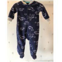 Macacão azul marinho aviõezinhos Carters - 6 a 9 meses - Carter`s