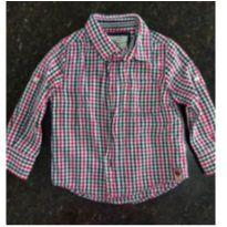 Camisa xadrez - 24 a 36 meses - Não informada