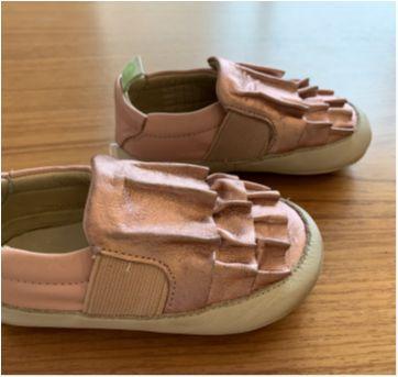Sapato rosa Tip Toey Joey novo! - 19 - Tip Toey Joey
