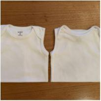 Body regata branco Carters - 9 meses - Carter`s