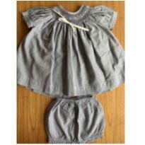 Conjunto bata e shorts listradinho TROUSSEAU petit - 18 meses - Trousseau