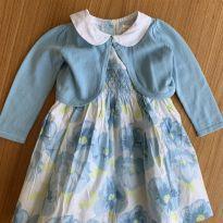 Vestido florido com casaquinho - 18 a 24 meses - Gymboree