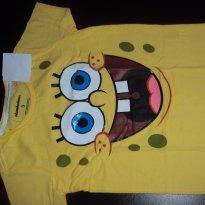 Camiseta Bob esponja - 3 anos - nickelodeon