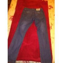 Calça jeans. Marca  Não informada   12 anos   R  40 0b9d65940a4