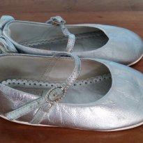 Sapato Prata com laço no calcanhar - 21 - Ortopasso