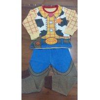 Pijama Woody Toy Story Disney - 3 anos - Importada