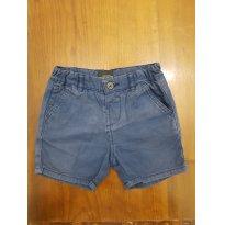 Shorts ZARA Marinho - 9 a 12 meses - Zara Baby