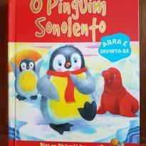 Livro - O Pinguim Sonolento - 3D -  - Todo Livro