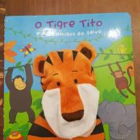 Livro Fantoche - O TIGRE TITO E SEUS AMIGOS DA SELVA -  - Ciranda Cultural