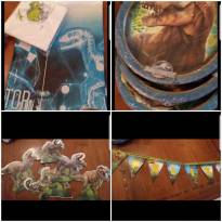 Kit pós festa Jurassic World -  - Não informada
