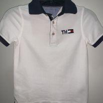 Camisa Polo Tommy Hifilger - 4 anos - Tommy Hilfiger