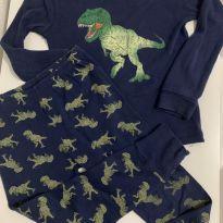 Pijama comprido Oshkosh T-Rex - 5 anos - OshKosh