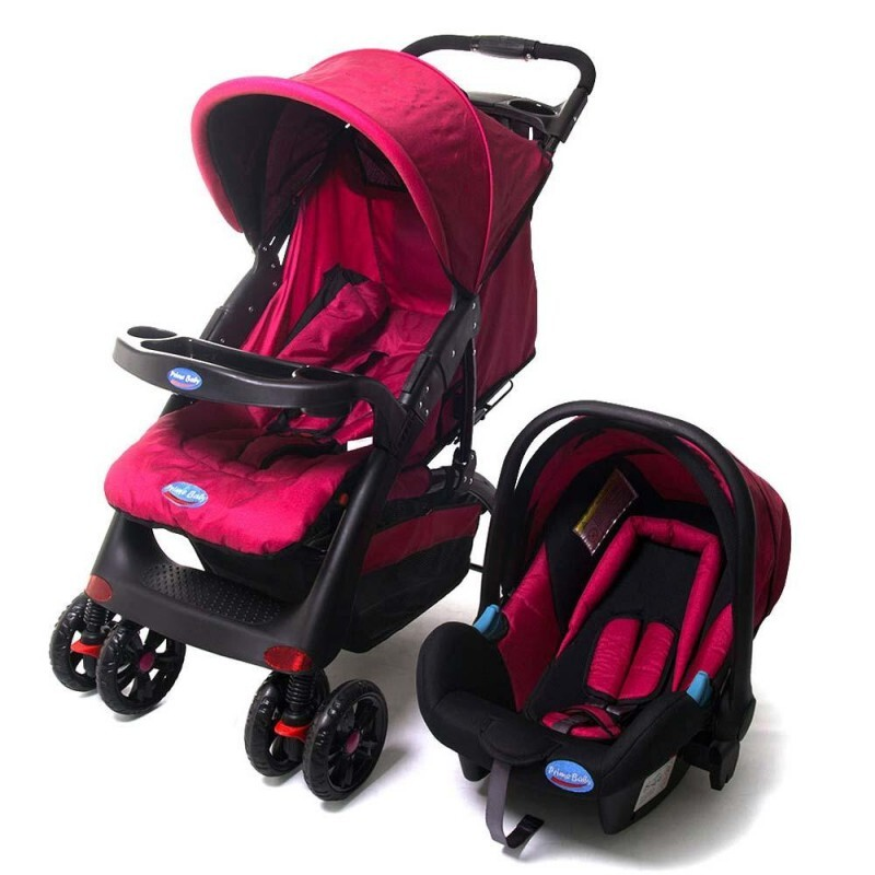 Carrinho De Beb 234 Prime Baby Travel System Elegance Pink