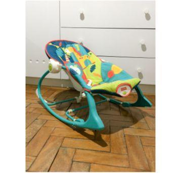 Cadeira de Balanço Fisher Price Minha Infância - Sem faixa etaria - Fisher Price