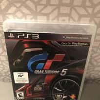 Jogo Gran Turismo 5 PS3 - Sem faixa etaria - Não informada