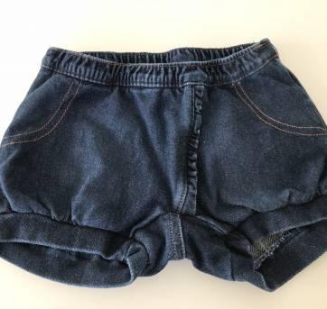 Shorts Jeans - 9 a 12 meses - Lilica Ripilica