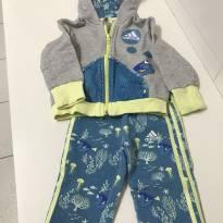 Conjunto Calça e Jaqueta - 18 a 24 meses - Adidas
