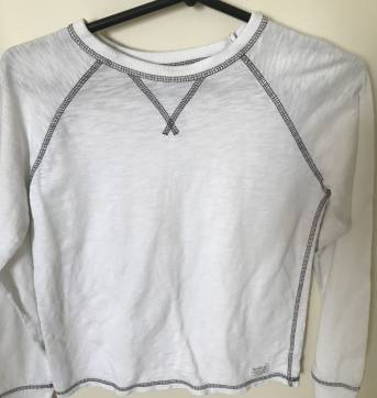 Camiseta Manga Longa - 8 anos - GAP