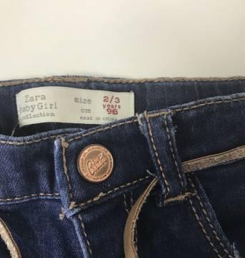 Calça Jeans - 3 anos - Zara