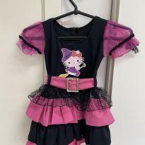Fantasia Bruxinha Hello Kitty - 4 anos - Sem marca