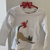 Camiseta Manga Longa - 4 anos - Gymboree
