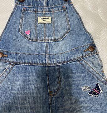 Macacão Jeans - 4 anos - OshKosh
