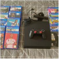 PS4 Slim com Jogos -  - Sony