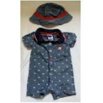Macaquinho com chapéu Little Lad Importado - 1 ano - Little Lad