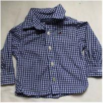 Camisa Importada Tommy Hilfiger - 3 a 6 meses - Tommy Hilfiger